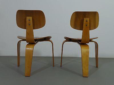 Egon Eiermann 2 X Stuhl Se 42 1950er Jahre Nussbaumbuche Wilde