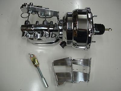 1959-1964 Chevrolet Impala 8 inch dual diaphragm brake booster master cylinder