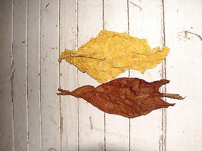 Virginia und Burley 50/50 Mischung Rohtabak 1Kilo Duft & Deko Blätter Naturtabak 2