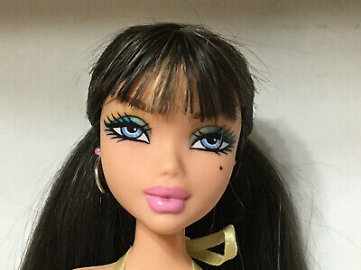 Barbie My Scene Delancey Doll's Splashy Chic Halter Dress Outfit Clothes Rare