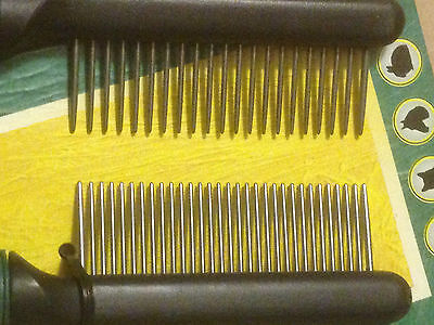 Peigne 31 dents Karlie made in germany chromage  haut de gamme menage le poil ! 2