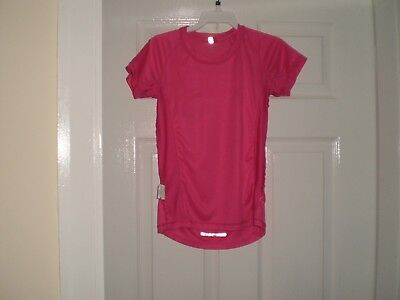 "T-Shirt "" Karrimor ""RUN Pink Size: Age:13  Years,Eur 158  Used 4"