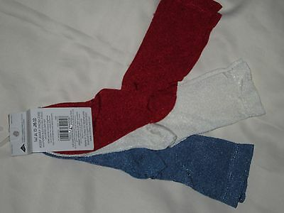 Mothercare 3 Pairs Girls Ankle Socks,  Size 12,5-3,5 3