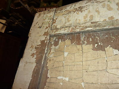 """LATE 18th century ANTIQUE colonial FOUR panel DOOR paint PATINA 78 x 35"""" x 1.25 6"""