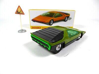 Coffret Collector Alfa Roméo Carabo Bertone DINKY TOYS Voiture Miniature MB101 10