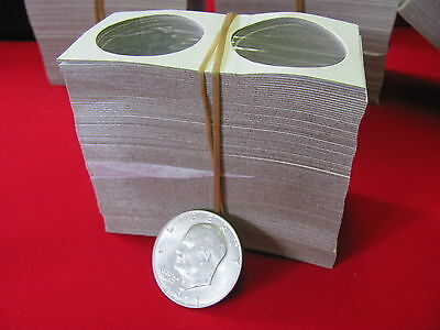 """100- Assorted Size- 2X2 """"COWENS"""" -Cardboard/Mylar Coin Holders- Free shipping! 6"""