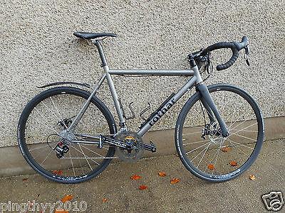 "Hylix  1 1//8/""*700* 32c Road Bike Carbon Fork with Rack Mounts"