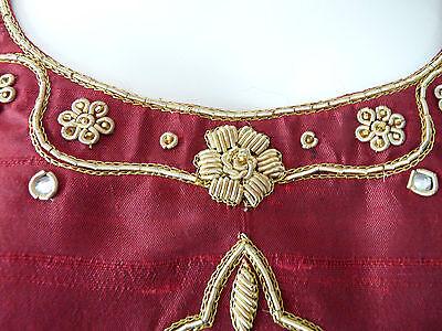 Asian Wedding Red Lengha & Dupatta     (M)  Uk 8/10  Ret £650    Bnwt 8