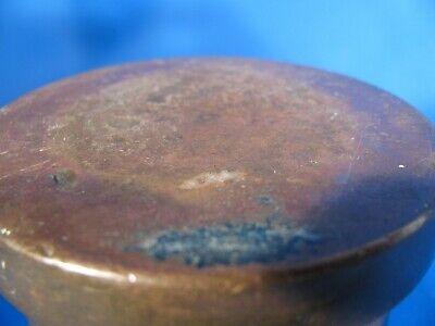 antiker Mörser mit Stößel Messing Bronze? 9