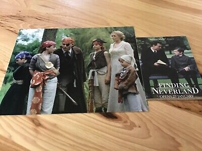 Freddie Highmore Vintage Signed 8x10 Color Photo Finding Neverland Photo Lot COA 3