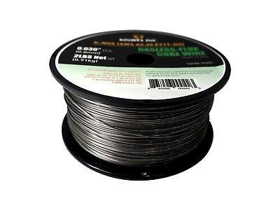 (2 Rolls) K-NGS E71T-GS .030 in. Dia 2lb. Gasless-Flux Core Wire Welding wire