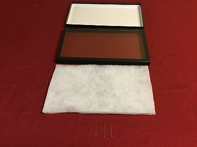 6 Pack of Riker Display Cases 8 x 14 x 1 for Collectibles, Jewelry & More