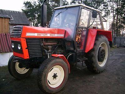 Zetor 8011-8045 12011-12045 Workshop Manual Printed