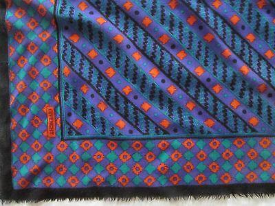 0782a26a7b6 ... Magnifique Foulard GIVENCHY en laine et soie TBEG vintage scarf 88 x 88  cm 8