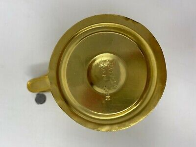 Rare Ancient Greek Mycenaean Art Replica Gold Bull Cretan Cup Hand Made Greece 8