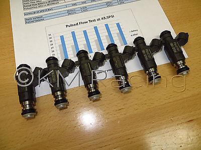 6x OEM Nissan Infiniti 3.5L JECS FBJC100 Fuel Injectors Flow Tested /& Cleaned