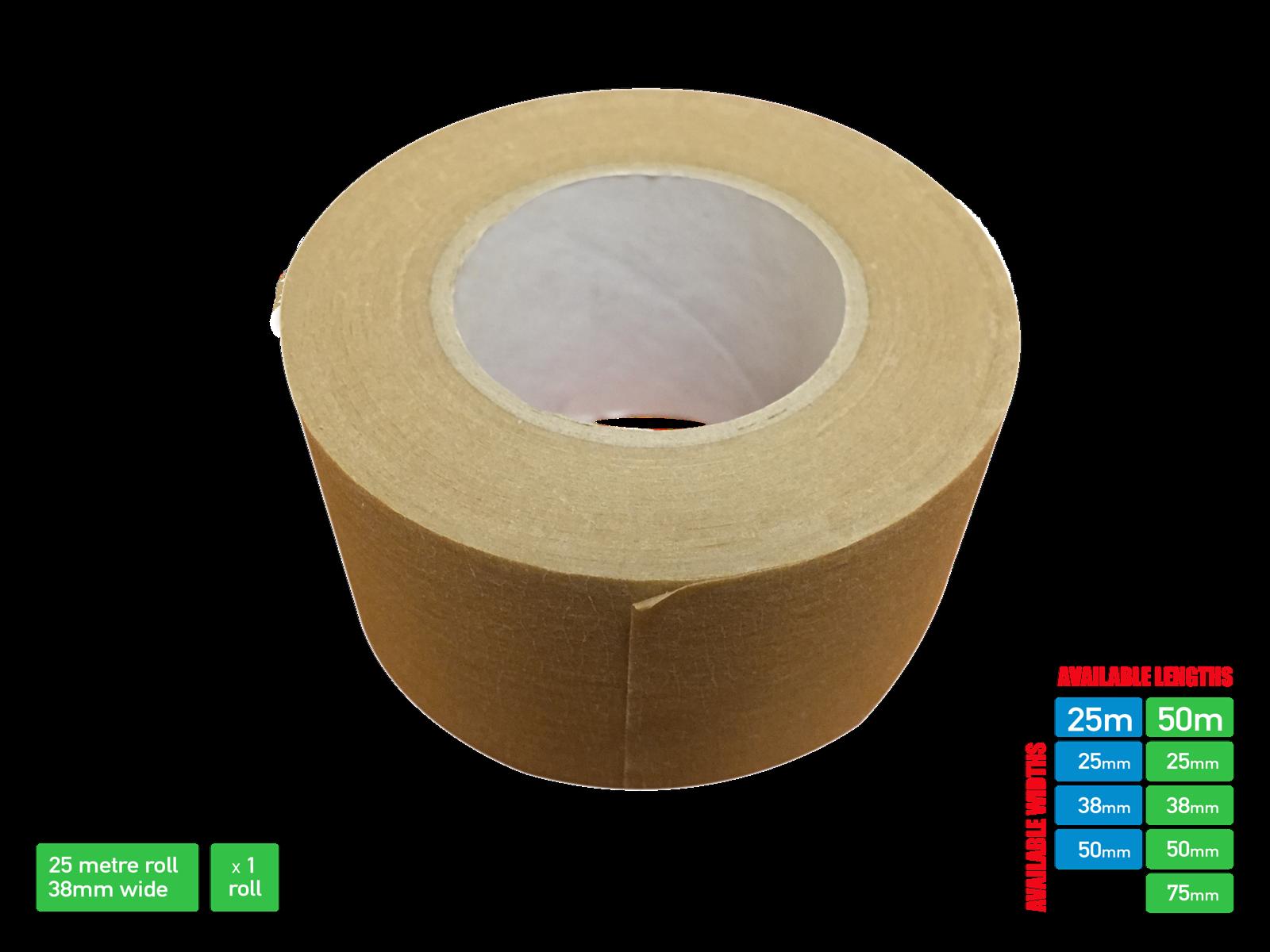 Picture Framing Tape Self Adhesive Brown Craft Framing Tape 50/25 metre 8