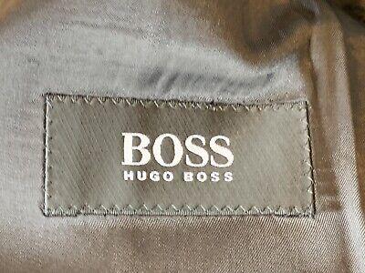 Hugo Boss Mens Size 40R Einstein Pure Wool Blazer Black Made In USA 4