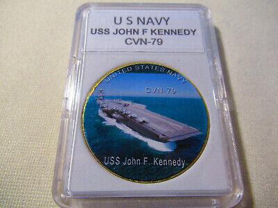 CVN-79 Uss John F Kennedy Dernier Avion Porteur Nous Marine Vaisseau Escadron