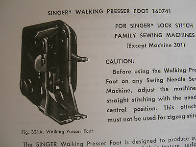 SINGER Teacher's Textbook of Machine Sewing 1957-on CD (PDF file) FREE SHIPPING! 8