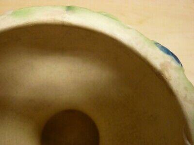 Roseville Pottery Rozane 1917 Floral Compote / Vase / Urn / Planter 4
