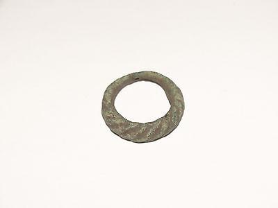 Graceful Twisted tin bronze Viking finger ring . c 8-10 AD. Kievan Rus. Viking. 5 • CAD $81.79