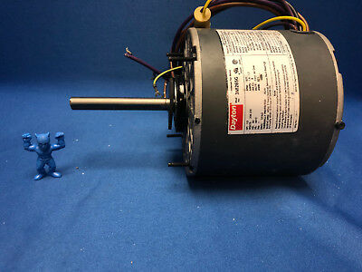 Dayton 3M265G Condenser Fan Motor 1/3 HP, 1625 RPM, 60 Hz, Phase 1 6