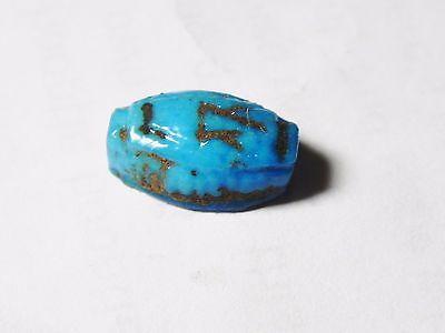 Zurqieh- Af553- Ancient Egypt, 18Th Dynasty, Fainece Scarab. 1400 B.c 4