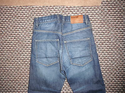 """And & Relaxed Jeans Waist 27"""" Leg 24"""" Faded Dark Blue Boys 10/11 Yrs Jeans 4"""