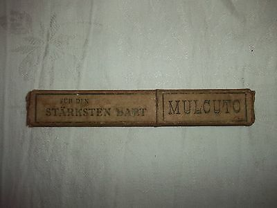altes Rasiermesser in OVP -Merx & Wald Solingen-MULCUTO 2