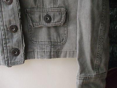 Girls/Ladies Jacket, 915 green, 164-170 3
