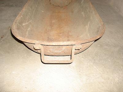 antik alt badewanne Mulde Kinderbadewanne Pferdetränke Fleischmulde Mischmulde 2