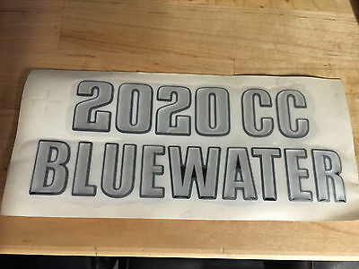 Key West Boats Domed 2300 CC Bluewater Decal Single