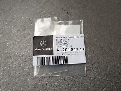 """Mercedes W124 R129 W201 Rear Badge Trunk Emblem Medium Dash /"""" /"""" A2018171115"""