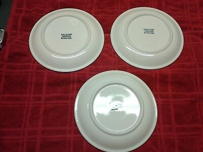 Set Of 3 8 Inch Plates Apples Casuals By China Pearl 1000