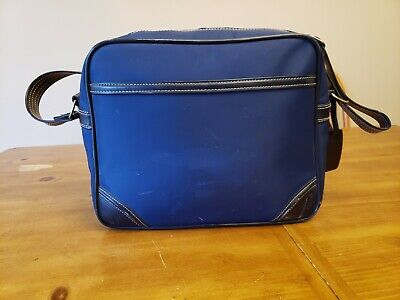 Vintage Sasson Luggage- Carry On -Travel Overnight Bag- Travel Tote 2