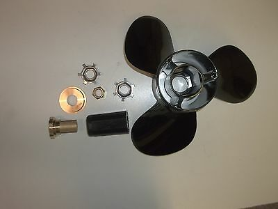 Mercury Mercruiser Propeller 14-1//4x17 14.25 Prop same as 48-832828A45 Black Max