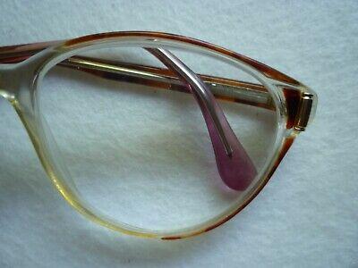 Stöffler Damen Brille  4031 - 2 vintage glasses 70er rot / braun 3