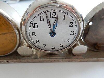 ART DECO ERA   trio clock barometer etc to restore 3