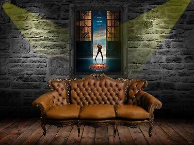 Captain Marvel 2019 Movie Poster A0-A1-A2-A3-A4-A5-A6-MAXI C399 2