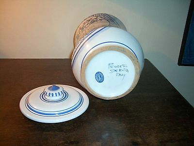 Deruta - Apotheker Vasen Majolika italienische Keramik handgemalt Paar 2