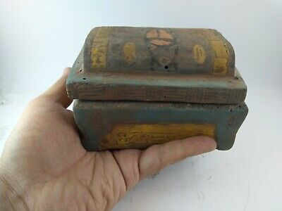 Rare Ancient Egyptian Antique Jewelry  Box 1114-800 Bc 2