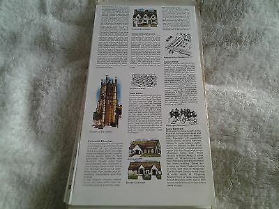 1970s RAC Leisure Special, map of  THAMES VALLEY  (COTSWOLDS & CHILTERNS) 2