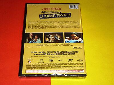 LA SOGA + LA VENTANA INDISCRETA / ROPE + REAR WINDOW -DVD R2- Precintada 3