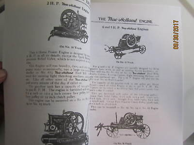 1917 New Holland Machine Co Gas Engine Instruction/Info  Manual 4