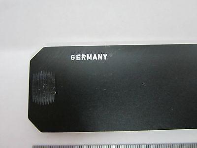 Microscope Leitz Germany Slide Filter Bg12 Dark Blue  Optics #K9-04 3