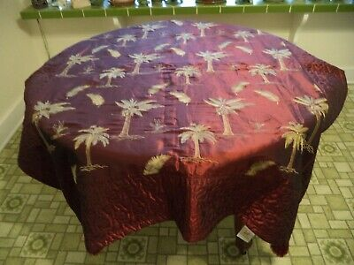 """Table Covering//Protector Heat-Proof in White 42/"""" x 90/"""" 106cms x 230cms"""