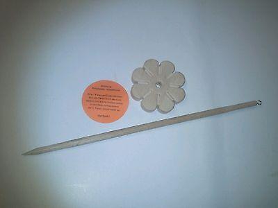 Multi Handspindel Blume  3 in 1 Spindel, Kopfspindel u. knüpfen wie Knüpfstern 2