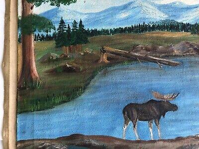 Marcel Fournier Painting Original Antique RARE Appraised $4000 + 6