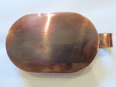 Arts and crafts copper and brass tray 3